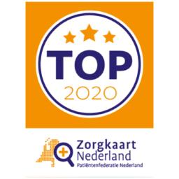 Award voor top 2020 verpleeghuis van ZorgkaartNederland