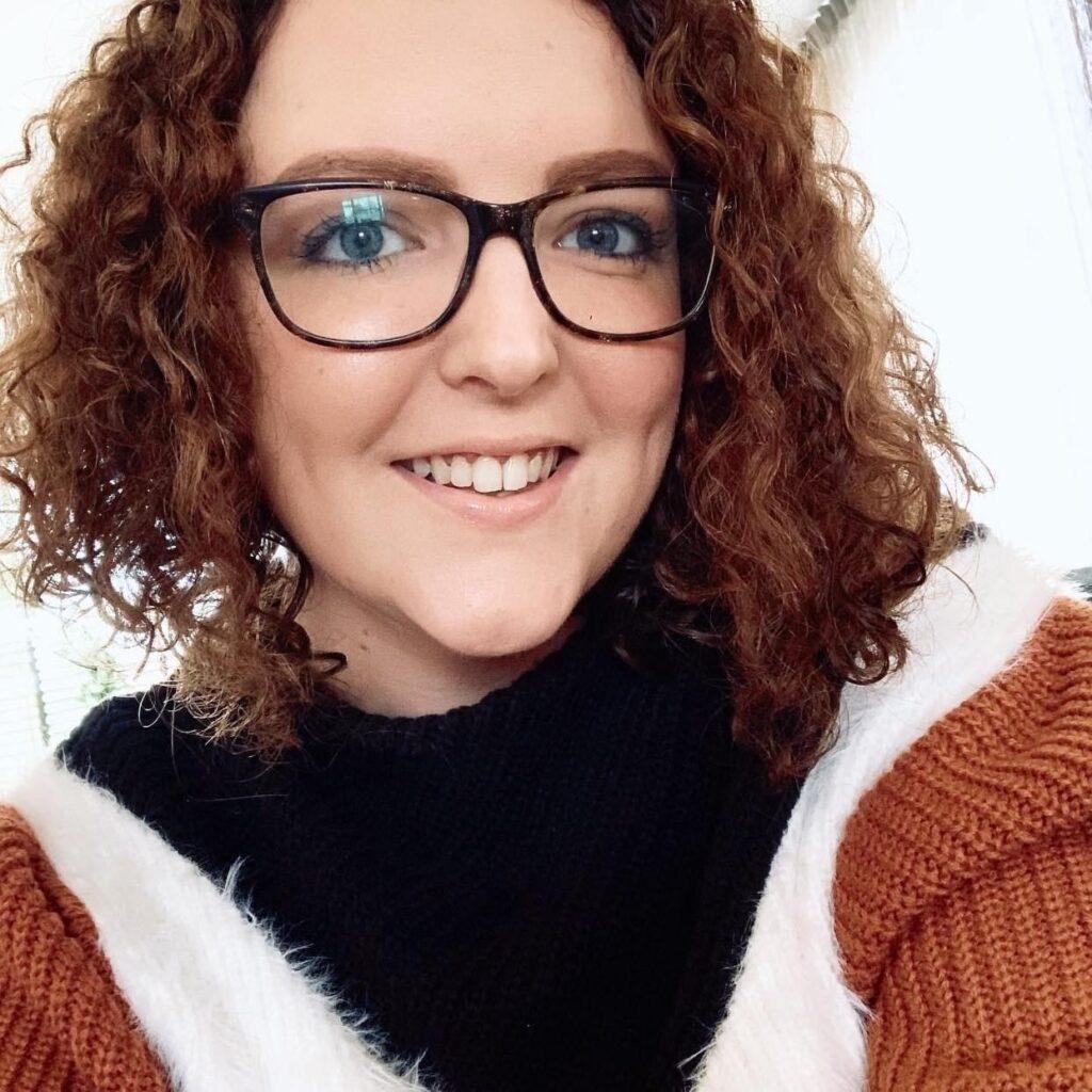 Selfie van Eline Trip die werkt als verzorgende IG bij Dagelijks Leven